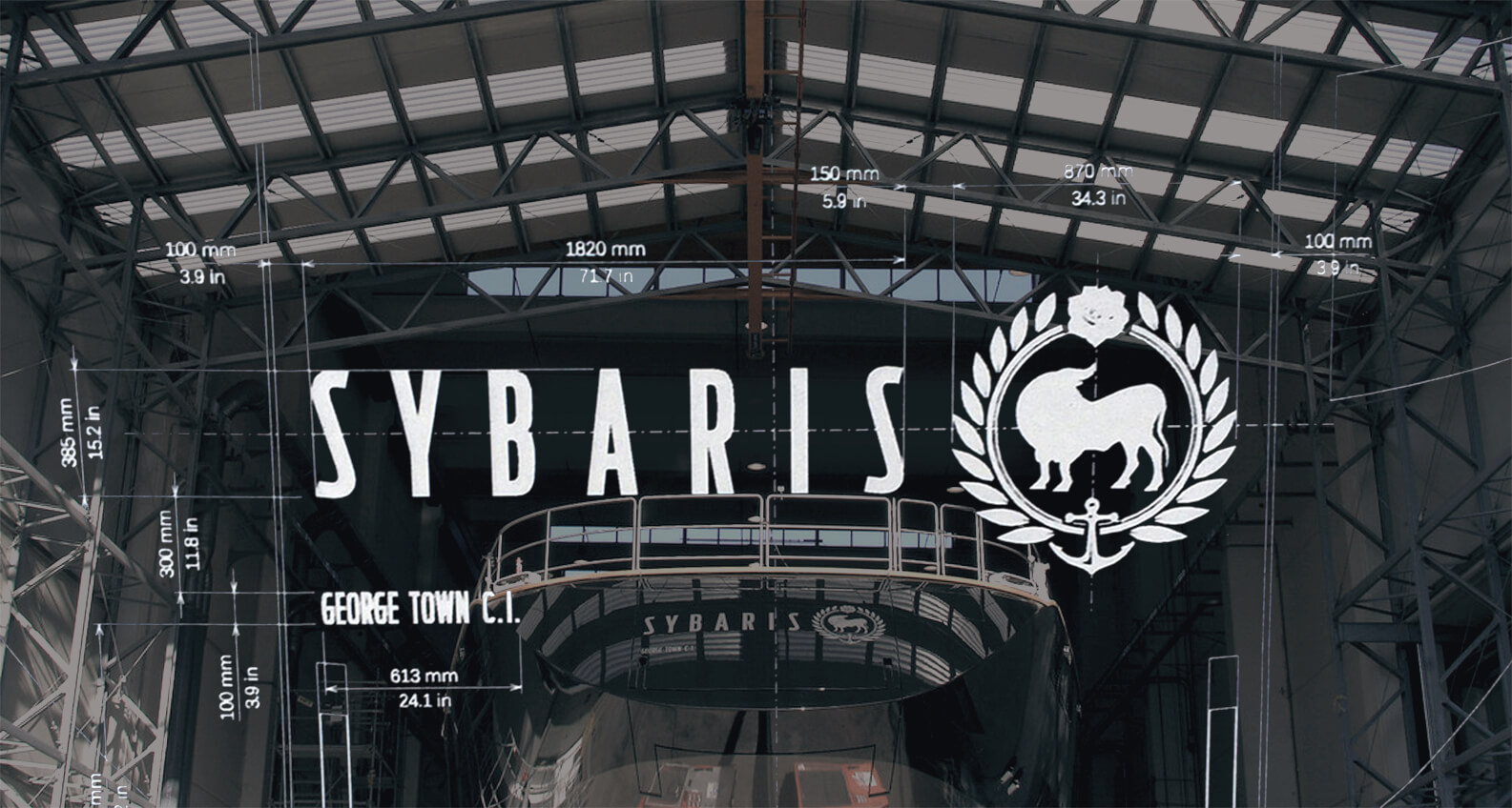 Sybaris logo system by Jacober Creative