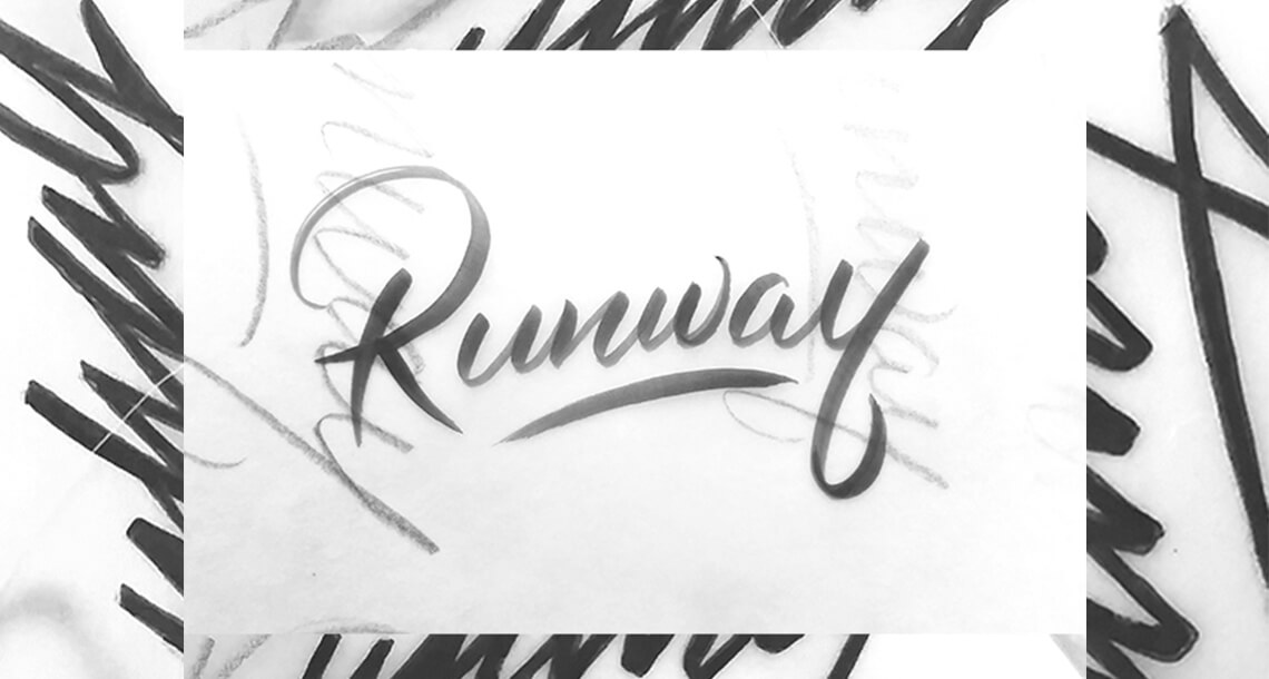 Runway Logo Sketch by Jacober Creative