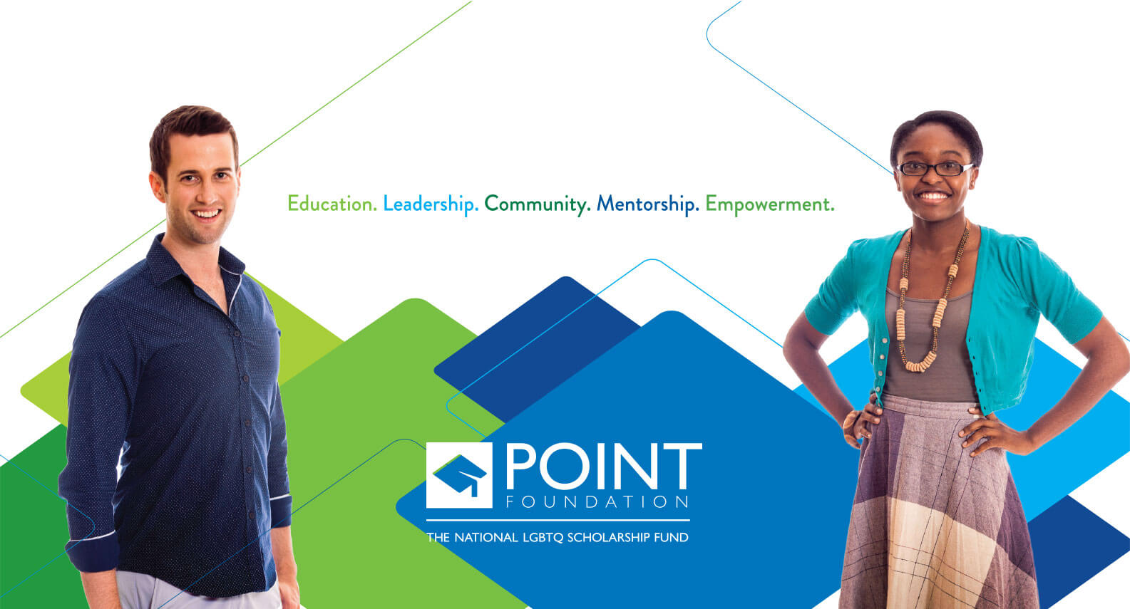 Point Foundation branding imagery