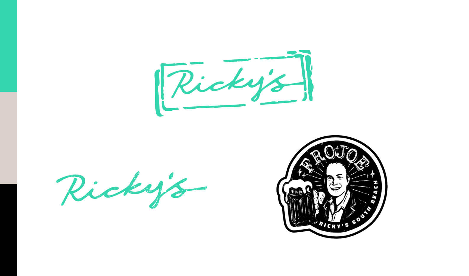Ricky's logo and branding by Jacober Creative