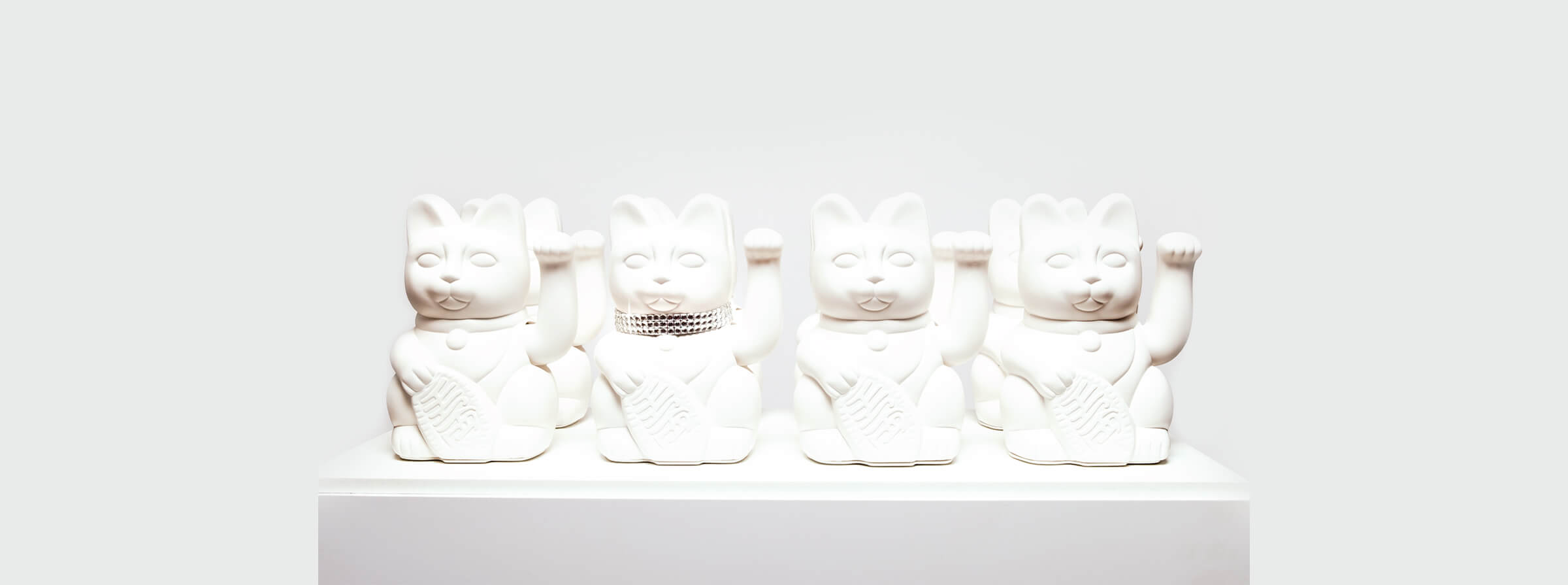 IRL - In Reel Life - Diamonds are Forever Maneki Cats