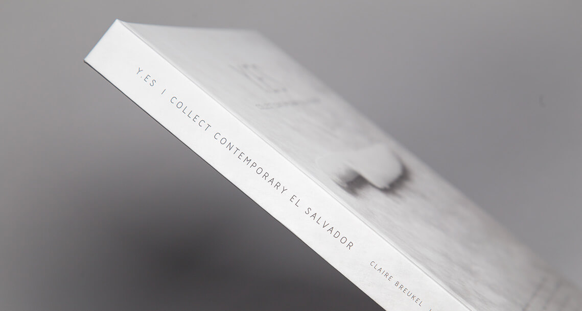 Yes table book design by Jacober Creative