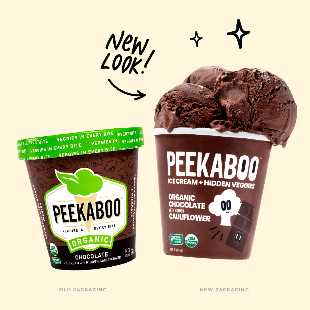 jacober peekaboo packaging before and after