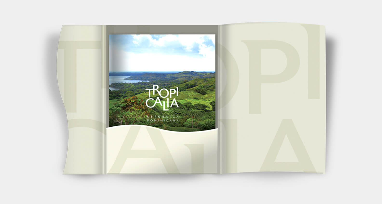 Tropicalia book design by Jacober Creative