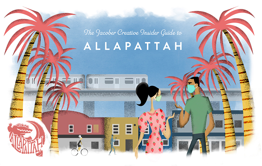 Illustration of Jacober Creative's guide to Allapattah.