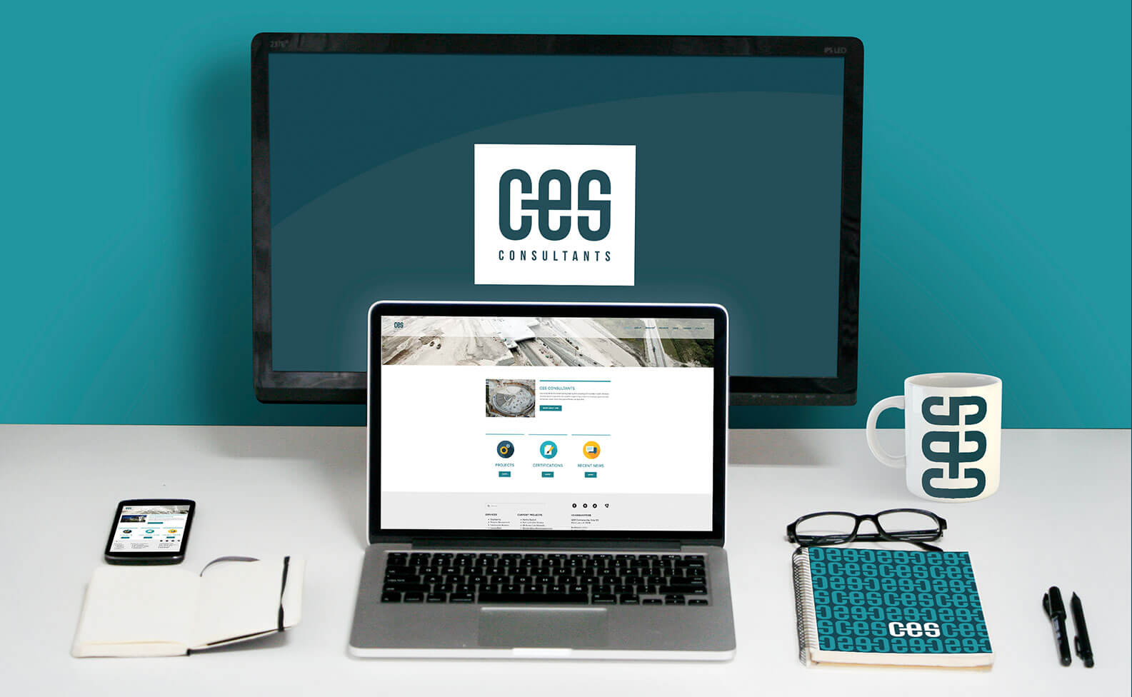 CES Consulting web design by Jacober Creative
