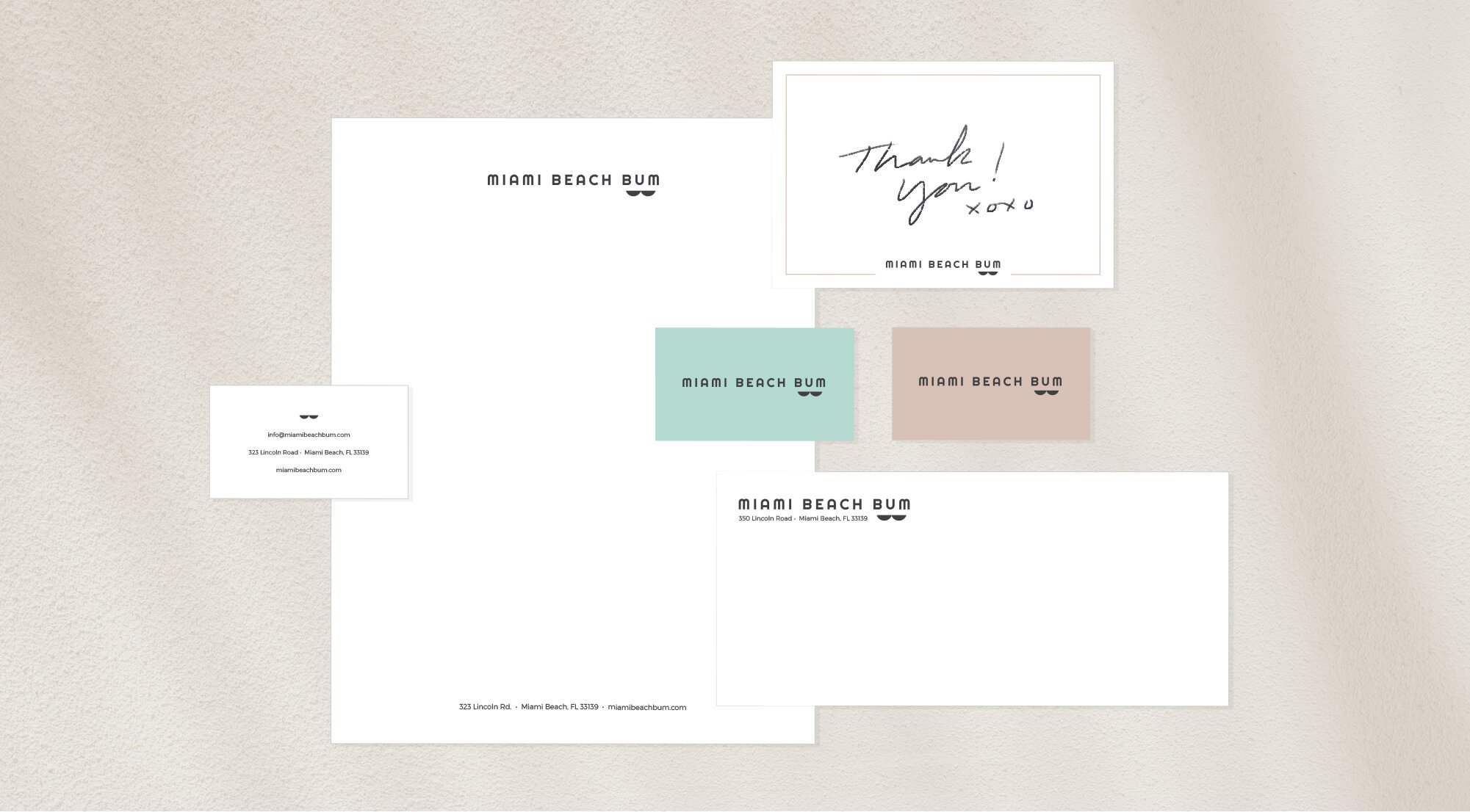 Miami Beach Bum Stationery