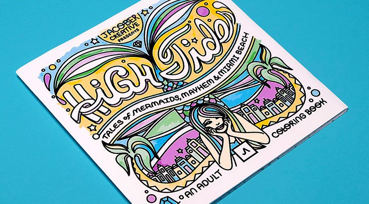 High Tides: Coloring Book